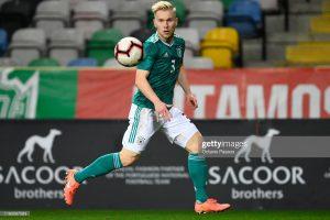 Lennart Czyborra (LC3) im Spiel der U20 Nationalmanschaft gegen Portugal 18.11.2019
